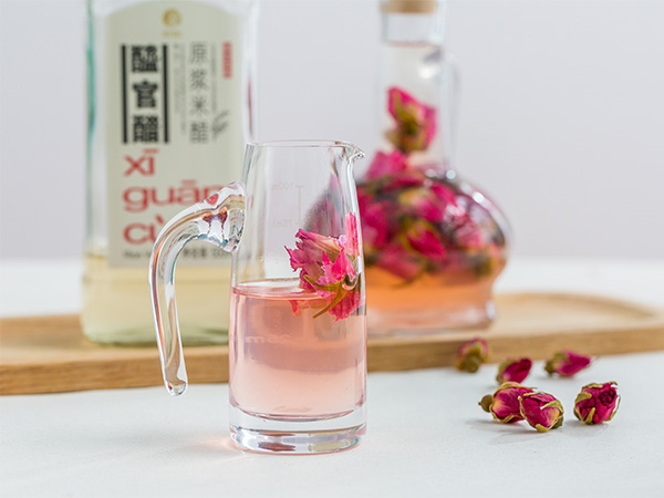 Rose and Honey Infused Water