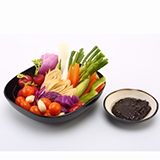 Vegetables Served with Soy Bean Paste