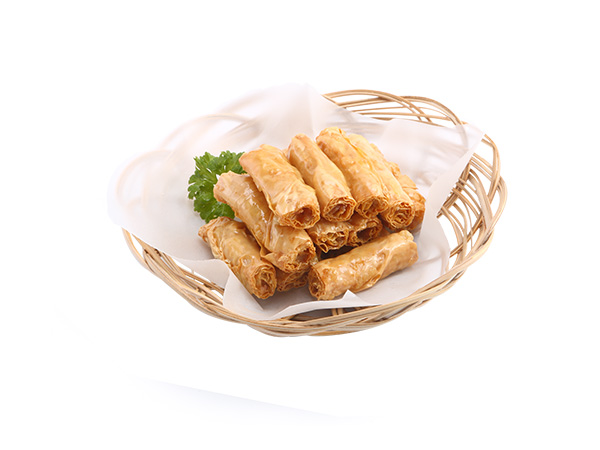 Fried Bean Curd Stuffed with Pork