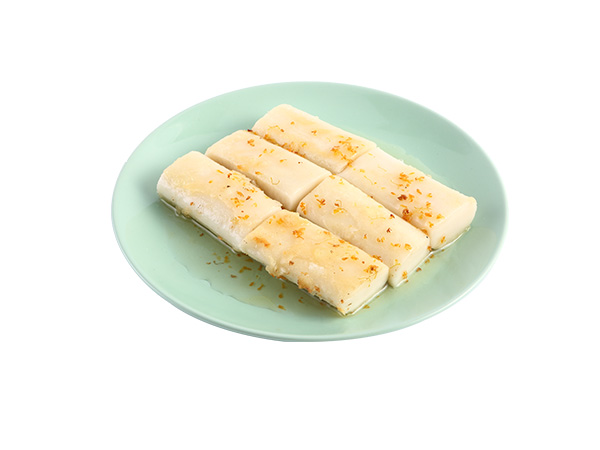 Osmanthus Syrup Glazed Rice Cake