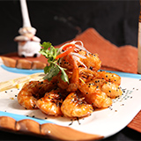 Chinese White Shrimp with Sweet and Sour Sauce