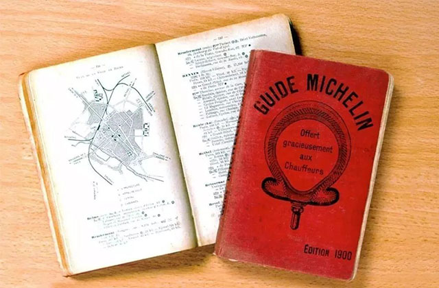 (The first edition of the MICHELIN Guide, published in 1900)